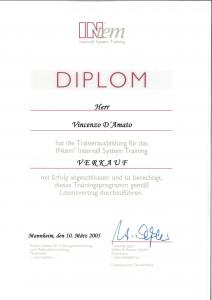 Diplom Intem Verkaufstrainer